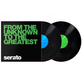 SERATO Black From The Unknown 12""
