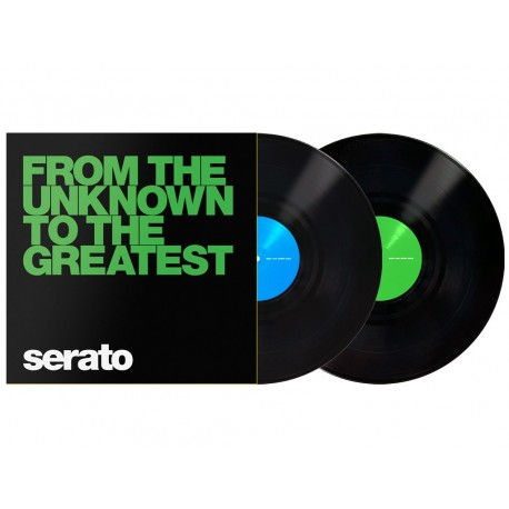 """SERATO Black From The Unknown 12"""""""