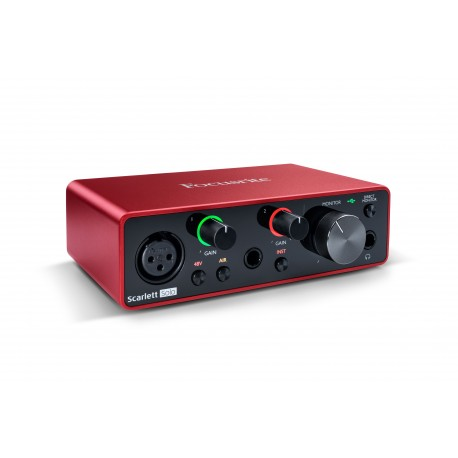 FOCUSRITE Scarlett Solo 3nd Generation Focusrite