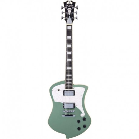 D'ANGELICO PREMIER LUDLOW ARMY GREEN D'Angelico