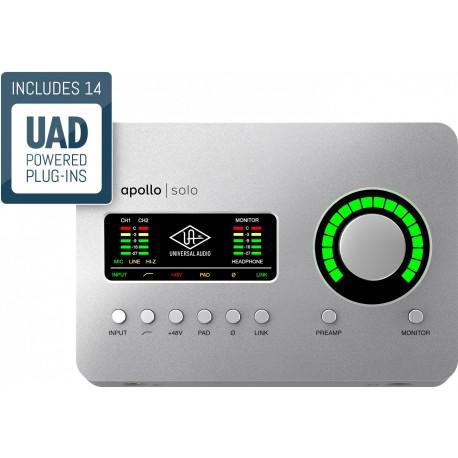 UNIVERSAL AUDIO Apollo Solo USB UNIVERSAL AUDIO