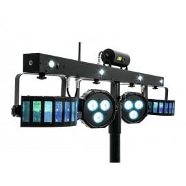 EUROLITE Set LED KLS Laser Bar FX Light Set + M-4 Speaker-System Stand