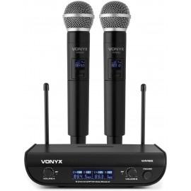 VONYX WM82 Double Handheld