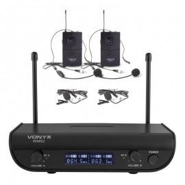 VONIX WM82 Double Headset