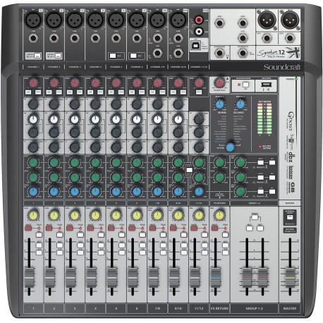 SOUNDCRAFT Signature 12 MTK Soundcraft
