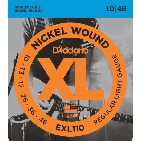 D'ADDARIO EXL110 Regular Light D'Addario