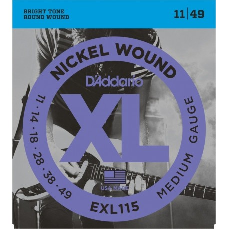 D'ADDARIO EXL115 Blues-Jazz Rock D'Addario