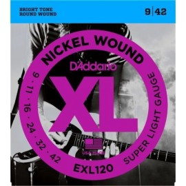 D'ADDARIO EXL120 Super Light D'Addario