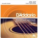 D'ADDARIO Phosphor Bronze EJ15