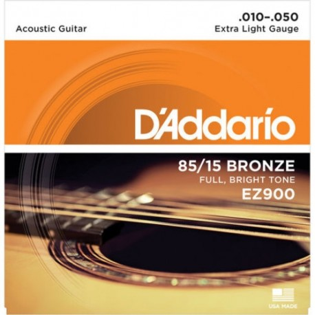 D'ADDARIO EZ900 American Bronze D'Addario