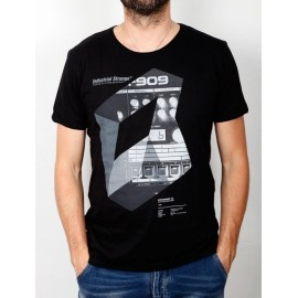 "Industrial Strange T-Shirt \""Synth 909\\"""