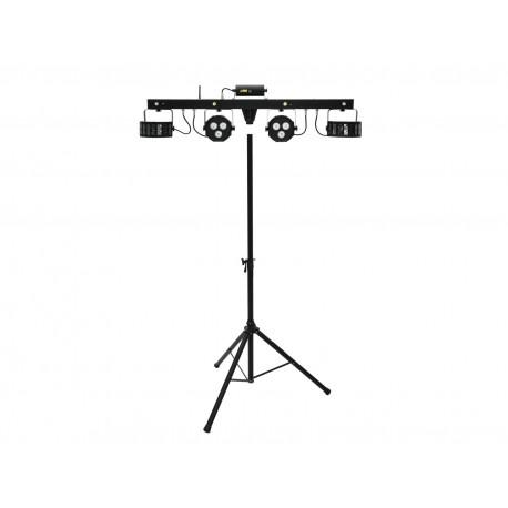 Eurolite Set LED KLS Laser Bar FX + M-3 Speaker-system stand Eurolite