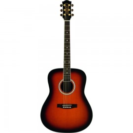 EKO Ranger 6 Brown Sunburst Eko